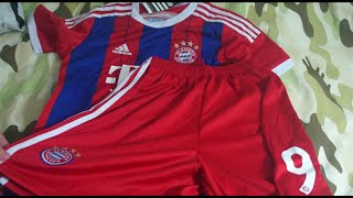 getlinkyoutube.com-unboxing kit camisa bayern de munique 2014 2015 infantil aliexpress