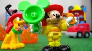 getlinkyoutube.com-Mickey Mouse Funny Firehouse Clubhouse Disney Junior Fisher-Price - Juguetes de Mickey Mouse