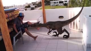 getlinkyoutube.com-Dinosaur Attack