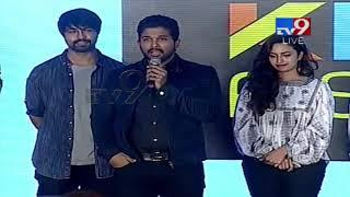 Allu Arjun speech at Vijetha Success Meet - TV9