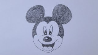 getlinkyoutube.com-Como desenhar o Mickey Mouse