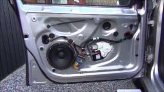 "Front door speaker change Golf MK5 8"" Kit"