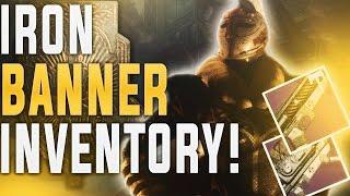 getlinkyoutube.com-Destiny IRON BANNER INVENTORY! 1-17-2017 Binding Blaze, Titanium Orchid, 100% Tier 12 Armor!