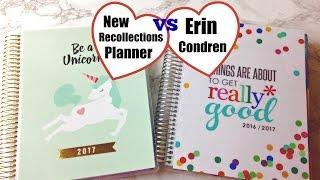 NEW Recollections Planner vs Erin Condren