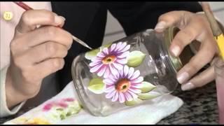 """getlinkyoutube.com-TV UP / Programa Marta Costa - O FUXICO Pintura em Vidros """"""""Parte 02"""""""""""