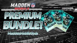 getlinkyoutube.com-MADDEN MOBILE 16 PACK OPENING :- Premium Bundle