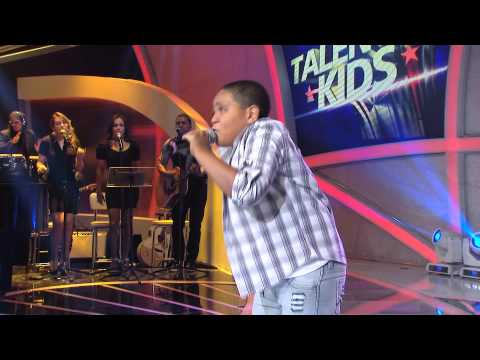 Programa Raul Gil - Silas Magalhães (Arde outra vez) - Jovens Talentos Kids #JT2013