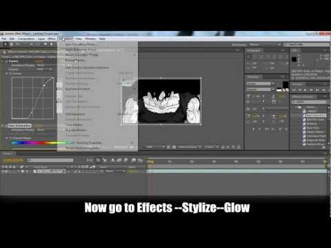 Adobe After Effects - AMV Tutorial ( Week 3 ) RGB TWITCH EFFECT - Easy way (HD)