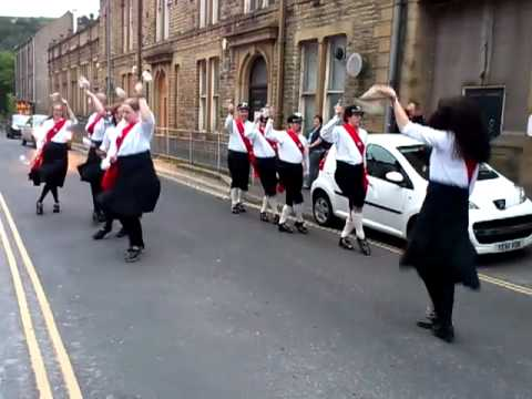 Sowerby Bridge Morris Dancers  27 June 2012