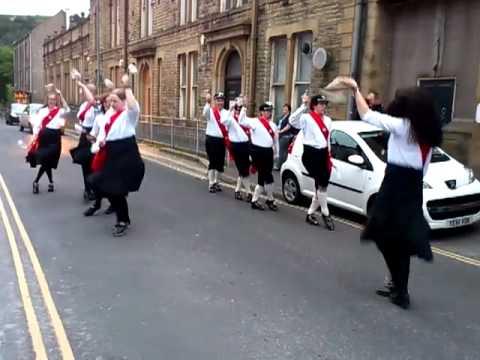 Sowerby Bridge Morris Dancers  27 June 2012