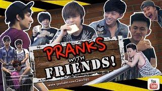 getlinkyoutube.com-Top 9 Harmless pranks ( Ft. Julien Bam, GongBao, Bunz, Trevmonki )