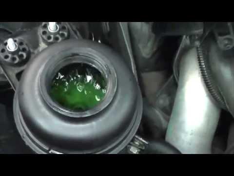 BMW E90. замена жидкости ГУР