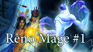 getlinkyoutube.com-[Hearthstone] Reno Mage S26 #1: Over Over Value