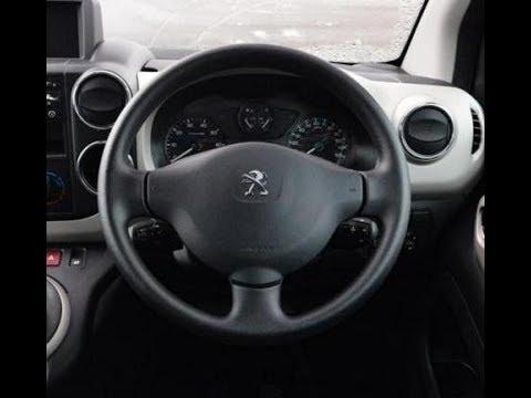 Как снять подушку безопасности Peugeot Partner - ... Berlingo Expert Jumpy 207
