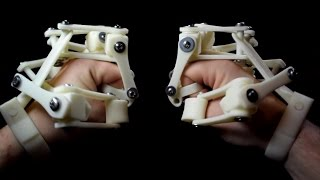 getlinkyoutube.com-3D Printed Exoskeleton