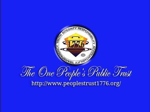 One People's Public Trust Presentation Ver. 3.2