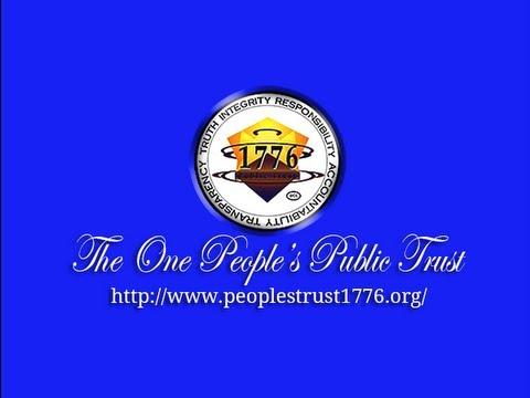 One People's Public Trust Presentation Ver. 3.2