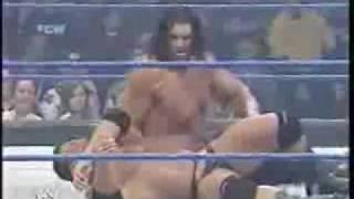 getlinkyoutube.com-Undertaker & Batista Vs Mark Henry & The Great Khali Part 2/2