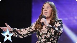 Simon Cowell halts singer Jodi Bird's audition but she fights back | Britain's Got Talent 2014