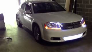 2012 dodge avenger grille and LED accents