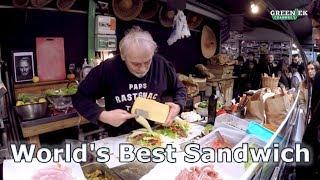 Как сделать мега сэндвич? Лучшие в мире мастера уличной еды: Париж, Chez Alain Miam Miam