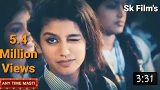 Priya Prakash Warrior full hd video song