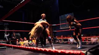 getlinkyoutube.com-AWW Wrestling - Leah Von Dutch vs Shanna