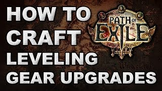 "getlinkyoutube.com-Path of Exile: How to Craft Your Own Progression Gear - ""Cant Find Upgrades"" Edition"