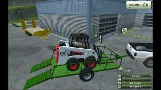 getlinkyoutube.com-[Farming simulator 2013] Bobcat S160 - Whites bucket and attachments (Mod contest)