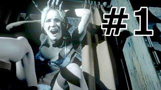 getlinkyoutube.com-ホラーゲーム - 美女も下着姿で叫びだすUntil Dawn ~全員生存~ 実況プレイ - Part1