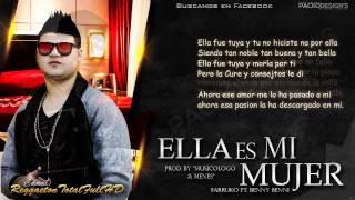 """getlinkyoutube.com-Ella Es Mi Mujer (Con Letra) - Farruko Ft. Benny Benni (Imperio Nazza """"Gold Edition"""") (Original)"""