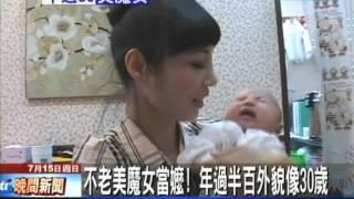 getlinkyoutube.com-【中天】7/15 不老美魔女當嬤 年過半百外貌像30歲