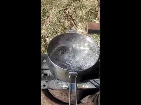Rocket stove part 3