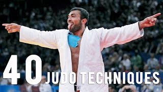 getlinkyoutube.com-40 Judo Techniques in 5 mn with the Superstars