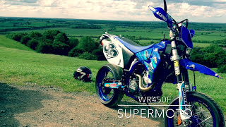 getlinkyoutube.com-My Supermoto build Wr450f