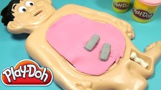 getlinkyoutube.com-Play-Doh Operation Playset Playdough Operation Hasbro Toy