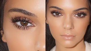 getlinkyoutube.com-Kendall Jenner Natural Glowing Makeup Tutorial 2015