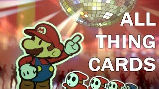 getlinkyoutube.com-Paper Mario Color Splash: ALL THING CARDS Animations (1080p 60fps)