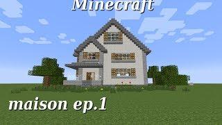 getlinkyoutube.com-Minecraft - Maison américaine - Partie 1