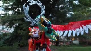 getlinkyoutube.com-DX Gao Hunter, Gao God, and Gao Icarus STOP MOTION!