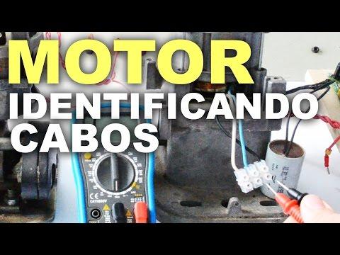 Como Identificar os 3 fios de um motor monofásico 127V \ 220V