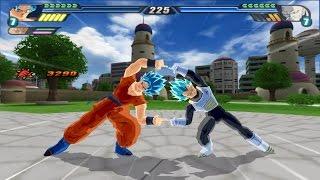 getlinkyoutube.com-Gogeta Blue Super Saiyan God Fusion VS Omega Shenron (Dragonball Z Tenkaichi 3 Mod)