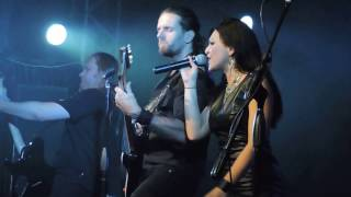 SIRENIA-Intro-Serpent/Lost in life/Dim Days of Dolor - live in Montevideo, Uruguay (11/3/2017)