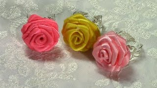 getlinkyoutube.com-DIY How to make Small Rose Ring, DIY, Tutorial