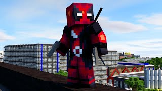 getlinkyoutube.com-Deadpool - Minecraft Speedart