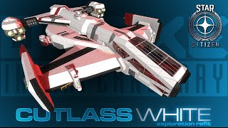 getlinkyoutube.com-Space Engineers - Star Citizen 'CUTLASS' Build - White Exploration Edition