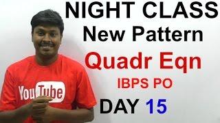 IBPS PO 2016 ( Night class Day #15)