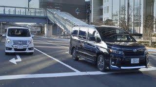getlinkyoutube.com-特別動画 トヨタ ヴォクシー VS ホンダ ステップワゴン(走りやシートなどの乗り心地編)