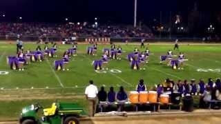 getlinkyoutube.com-2014 Livingston High School color guard Senior Night performance