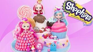 getlinkyoutube.com-Shopkins Shoppies Cake (Donutina, Jessicakes, Bubbleisha) from Cookies Cupcakes and Cardio